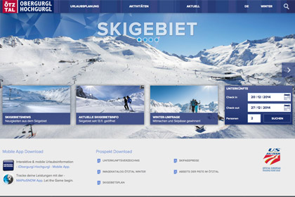 Obergurgl.com Website